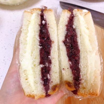 网红紫米奶酪面包这样做也太好吃了吧!天天吃都不腻